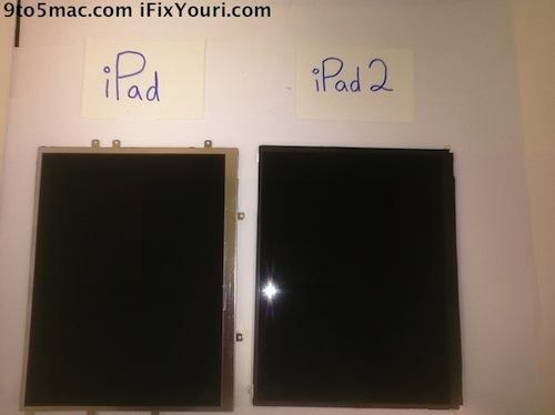 display dell'iPad 2