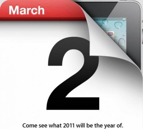 ipad 2 keynote il 2 marzo