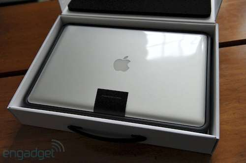scatola macbook pro 2011