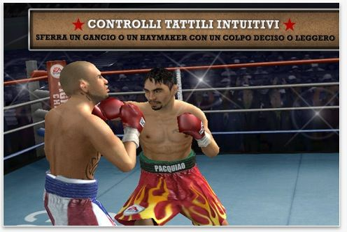 Fight Night Champion on iphone 4