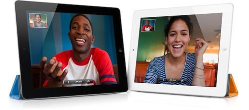 La videochiamata facetime arriva su iPad 2