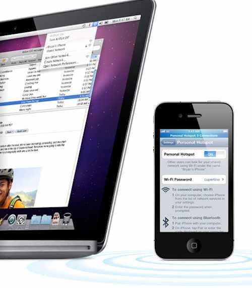 hotspot su iPhone 4