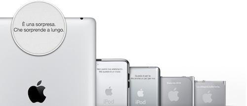 incisione ipad 2 apple