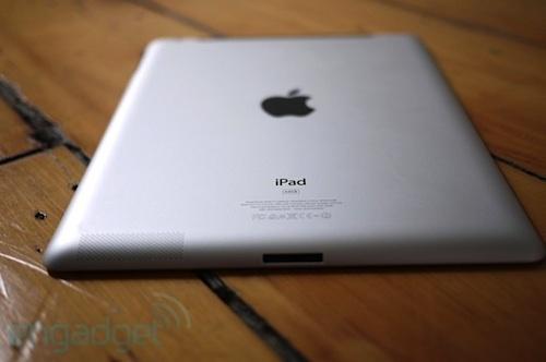 retro dell'iPad 2