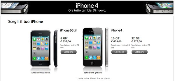 iphone 4 iphone 3Gs apple store online
