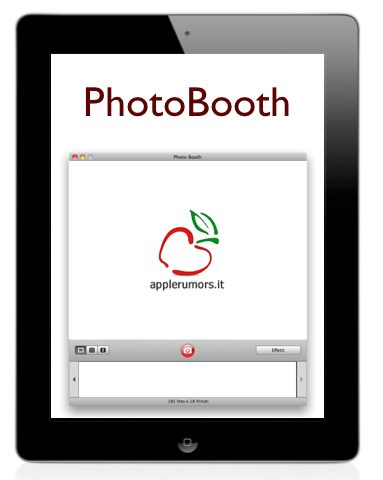 photo booth per ipad 2
