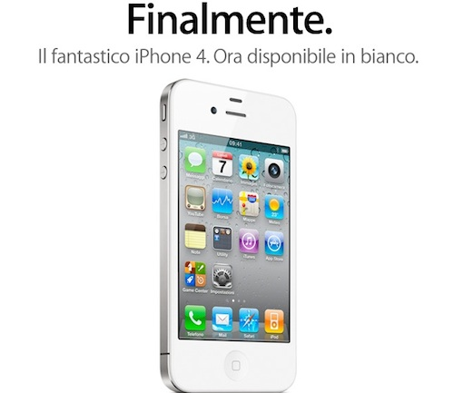 iphone 4 bianco sito apple