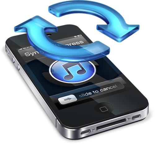 iphone 5 sincronizzazione wifi