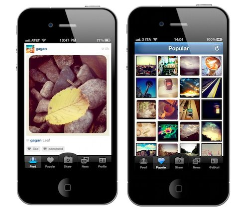 instagram iphone 4
