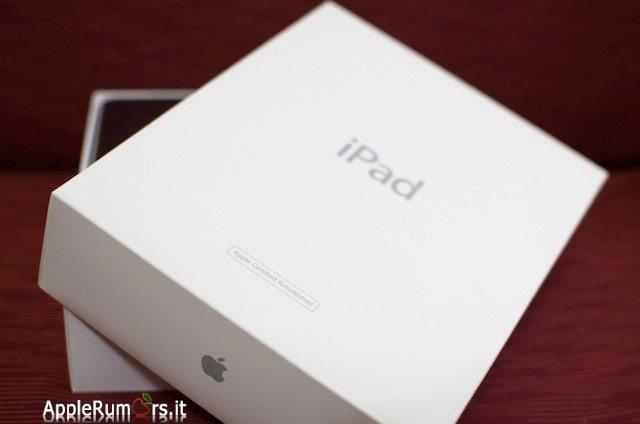 ipad 1 ricondizionato scatola
