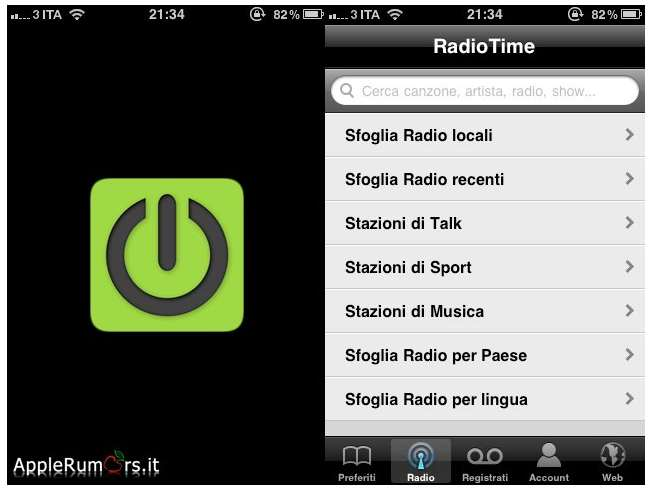 iRadio app store