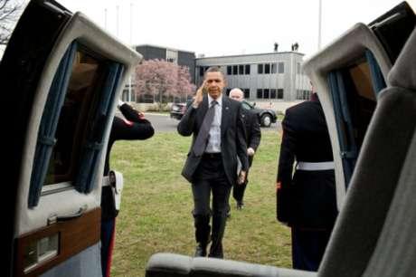 Barack Obama iPad 2