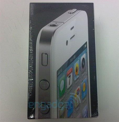 scatola iphone 4 bianco