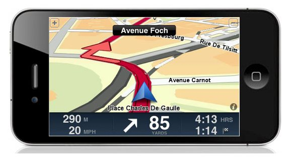 iphone 4 tomtom