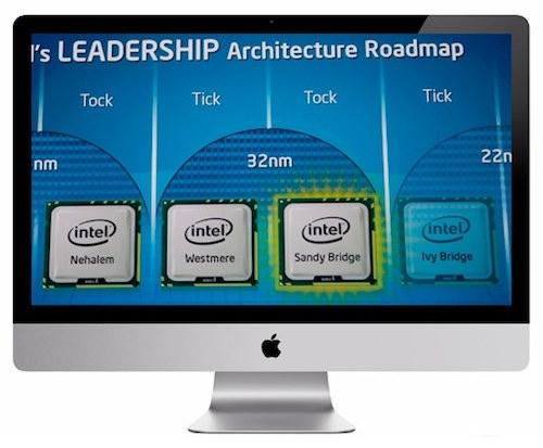 iMac 2011 processori sandy bridge