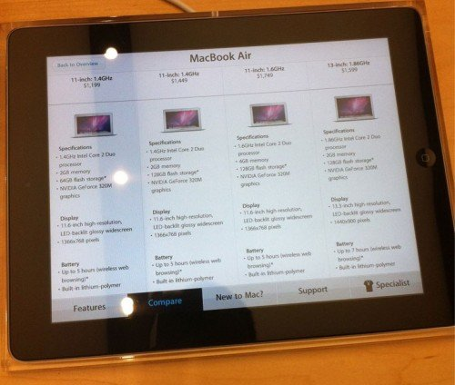 ipad 2 apple store 2.0