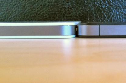 spessore iphone 4 bianco