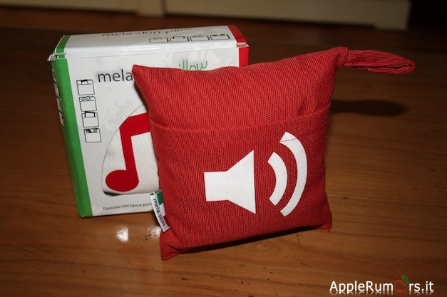 mela skin cuscino