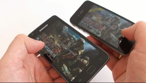 iphone4 vs galaxys2