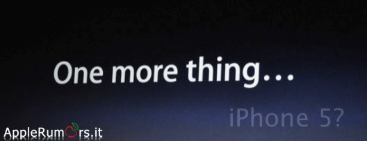 One More Thing WWDC 2011 iPhone 5