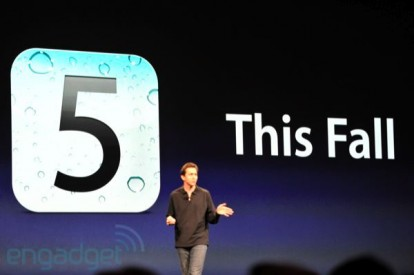 iOS 5 ths fall