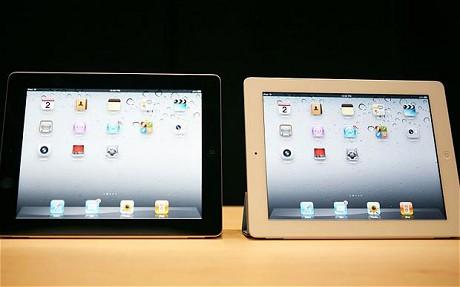ipad 2 bianco e iPad 2 nero