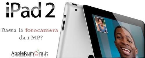 fotocamera iPad 2