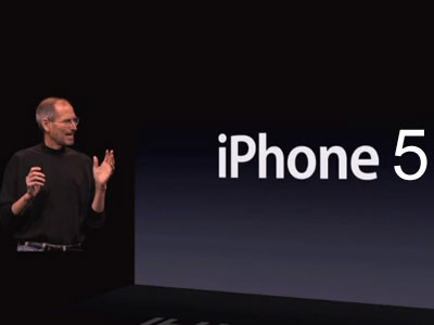 steve jobs iphone 5