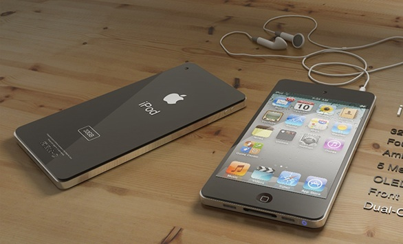 ipod touch 5G concept