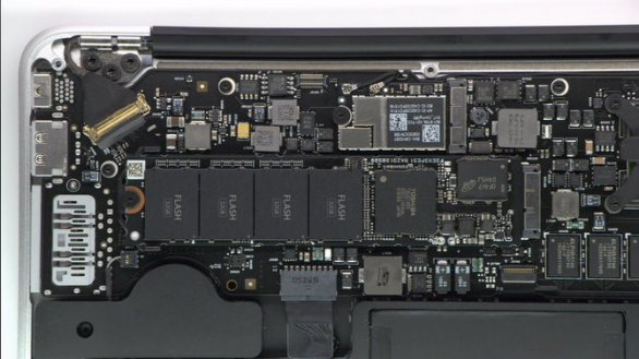memoria flash macbook air