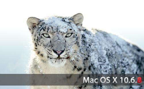 Mac OS X Snow Leopard 10.6.8