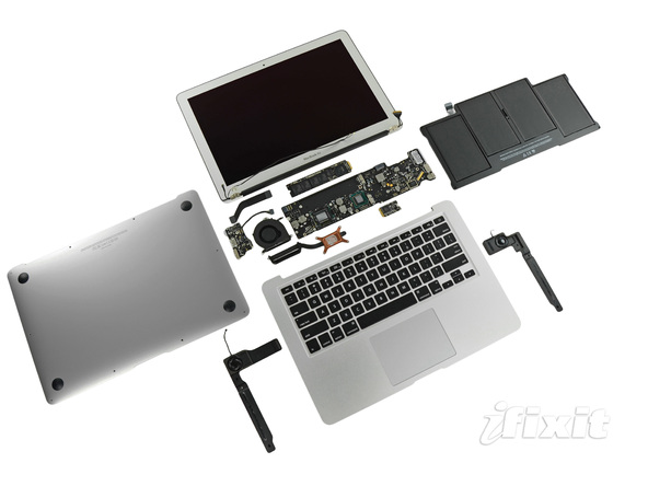 teardown macbook air 2011