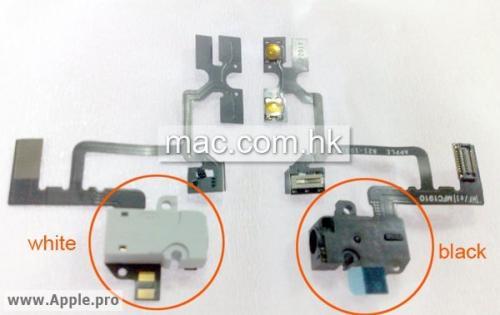 iphone 5 bianco componenti