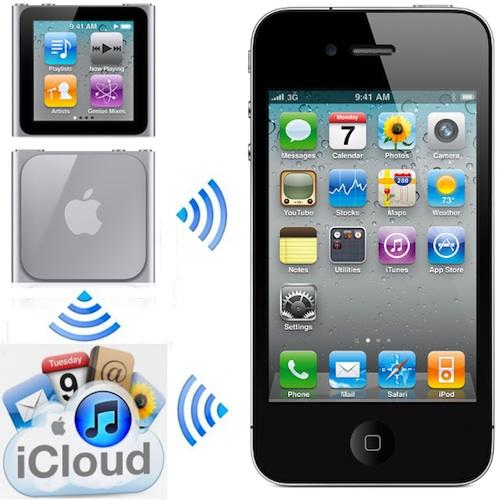 ipod icloud iphone