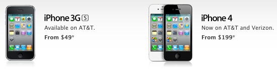 iphone 4 e iphone 3Gs