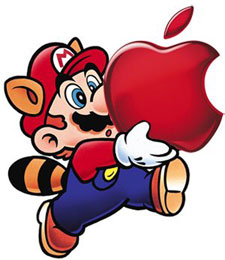 logo nintendo apple
