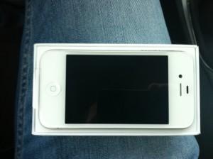 immagine iphone 4s bianco