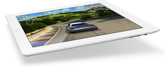 apple ipad bianco