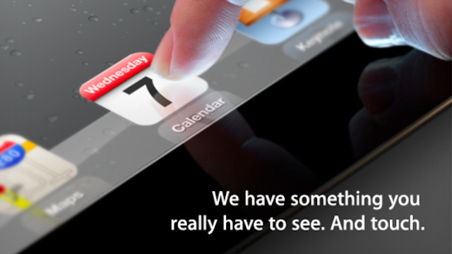 iPad 3 lancio 7 marzo
