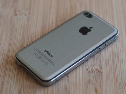 iPhone 5 liquid metal