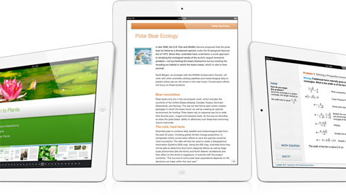 libri di testo multimediali iPad