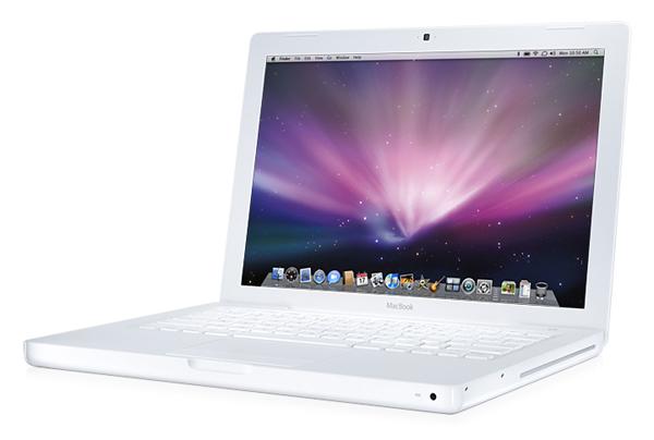 macbook bianco policarbonato