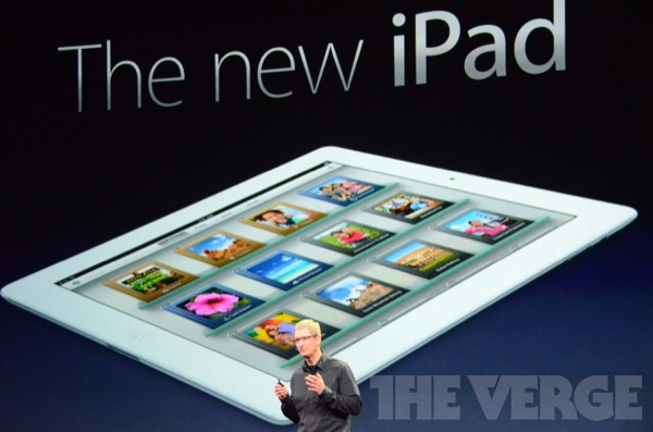 apple the new ipad