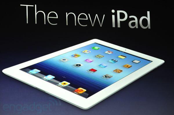 il nuovo iPad apple