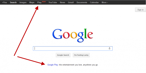 google play barra
