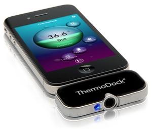 misurare temperatura iphone