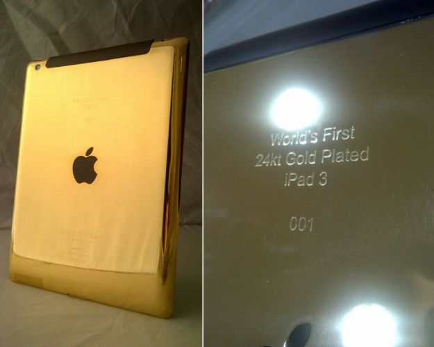 iPad 3 in oro