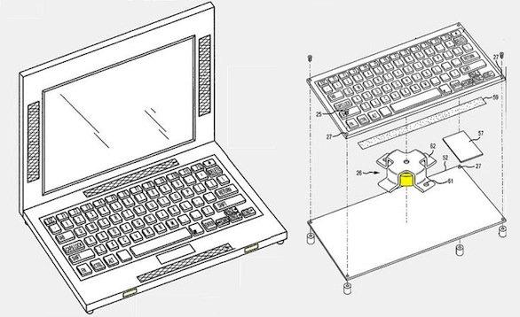 brevetto surround macbook