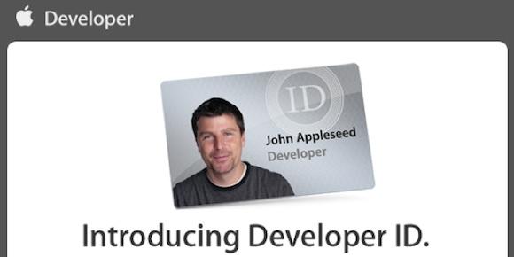 programma sviluppatori developer ID