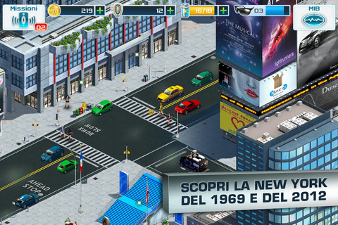 gioco di Men in black 3 su iOS